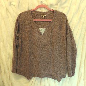 Juicy Couture Long Sleeve Sweater Rhinestone